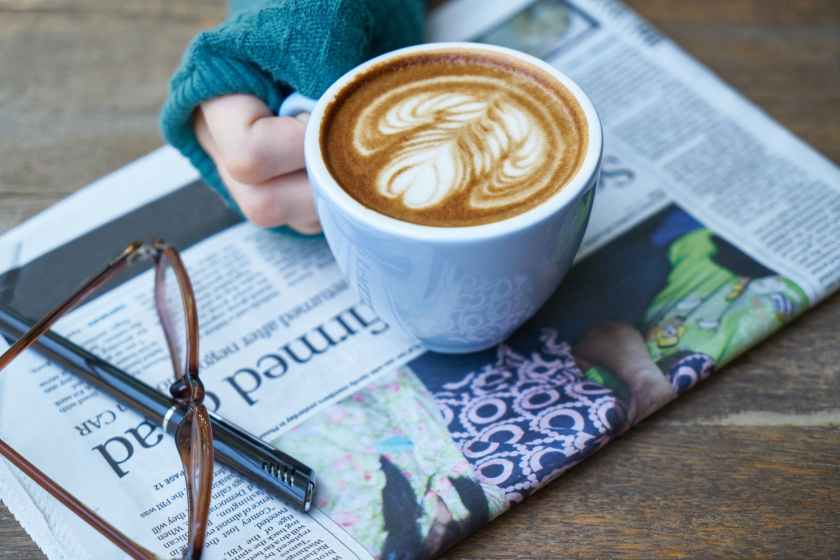ballpen blur close up coffee